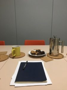 Photo of notebook on table